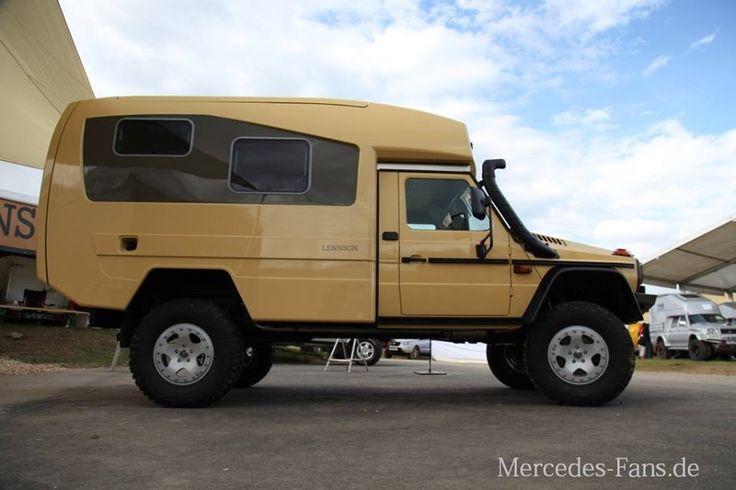 Lennson 3c – Der Offroad Camper: Fernreisemobil auf Mercedes-Benz G 300 CDI…