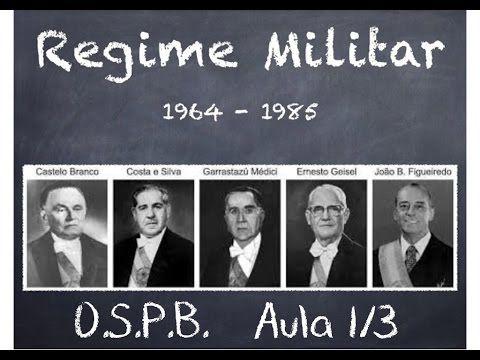 ►[REGIME MILITAR] A VERDADE SOBRE 1964. #Aula 1/3 - 'O Golpe'