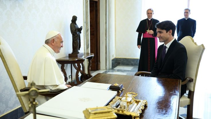 Trudeau Meets with Pope Francis; Seeks Residential School Apology