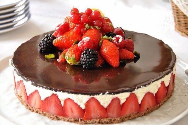 Γλυκές Τρέλες: Fraisier ...Το απολυτο γλυκό!