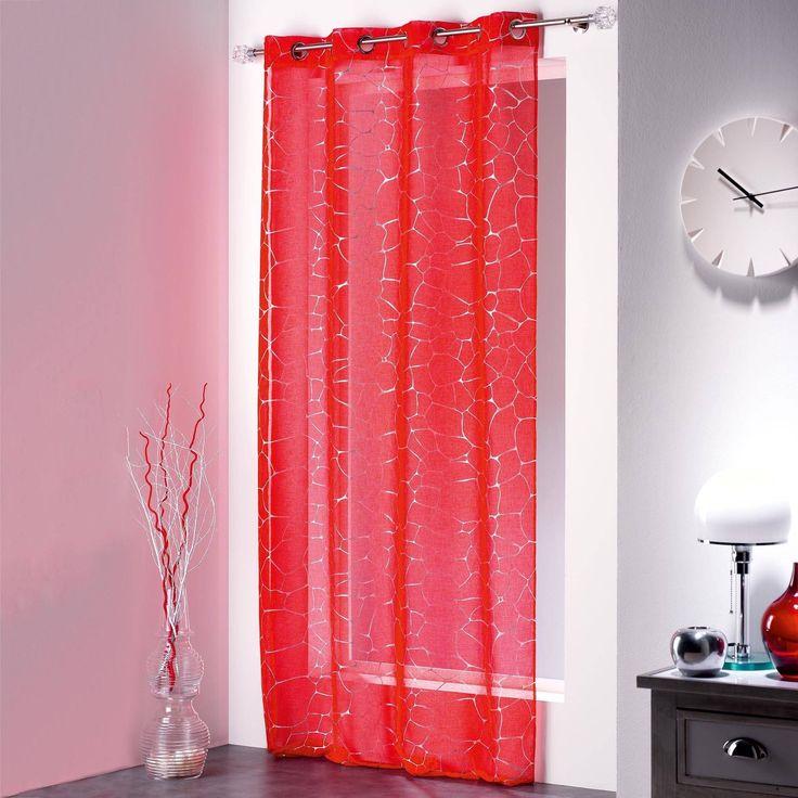 Evideco Net Curtain With Eyelets Sahel -