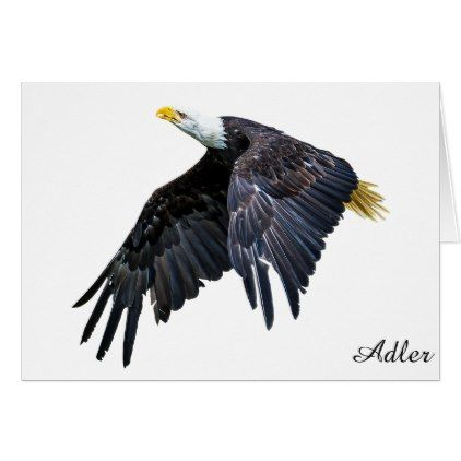 Adler Card - animal gift ideas animals and pets diy customize