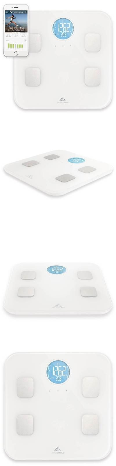 Scales: Cheap!!! Weight Gurus Bluetooth Body Composition Scale - White BUY IT NOW ONLY: $38.0