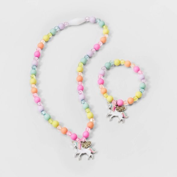 Little Girl Silicone Beaded Birthday Necklace Baby Girl Necklace Necklace for Toddler Toddler Girl Jewelry
