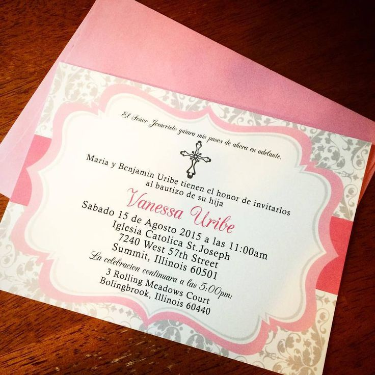 The 16 best Baptism and Christening Invitations images on Pinterest