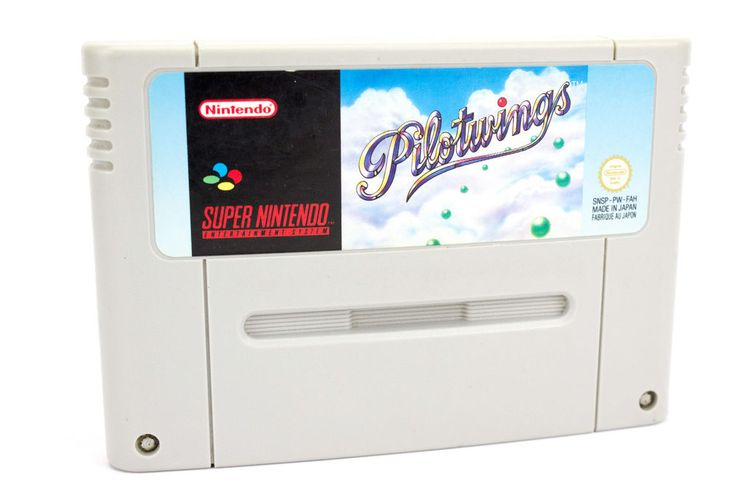 Pilotwings for the Super Nintendo, SNES - UK PAL, 1991