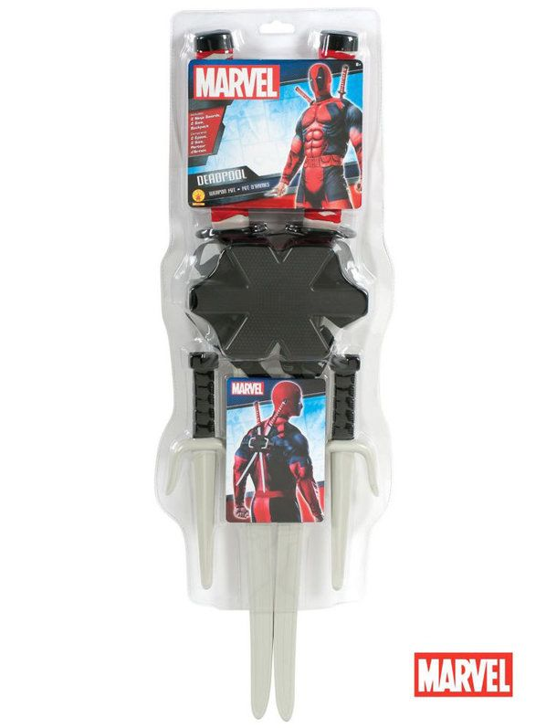 Check out Deadpool Weapon Kit - Wholesale Superheroes for Kids And Adults from Wholesale Halloween Costumes