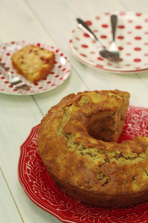 Cinco Quartos de Laranja: Bolo de maçã com tâmaras