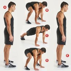 squat thrust method 15 rep count down w kettleball swing Huge metabolic boost. loose weight and inches fast