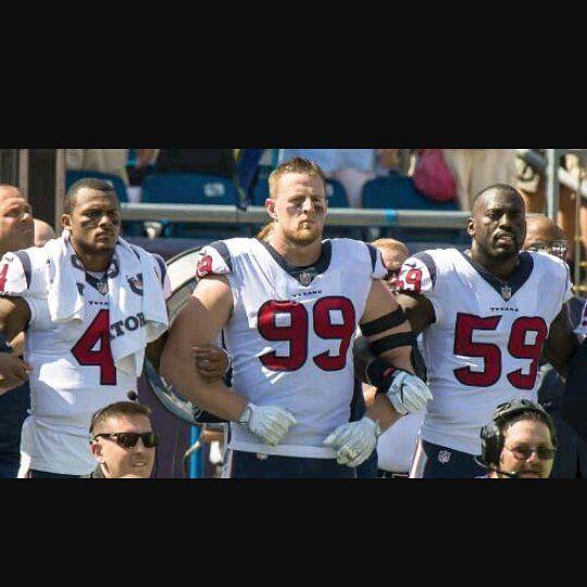We need our stars back  #texans #injury #houston #afcsouth #afc #nfl #watson #jjwatt #mercilus #bigthree