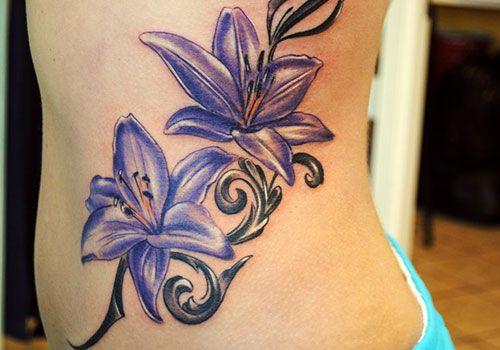 violet flower tattoo designs | Violets
