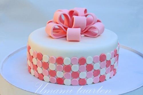 Bow cake / strik taart