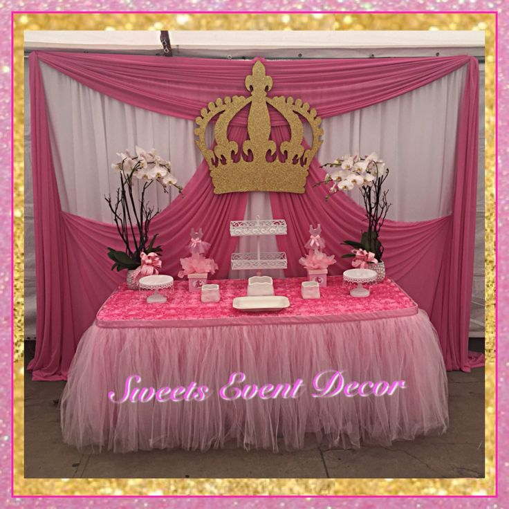 Best 12 Royal Princess Theme Decoration Images On