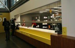 TU/e Metaforum book shop's reception #rolling shutter