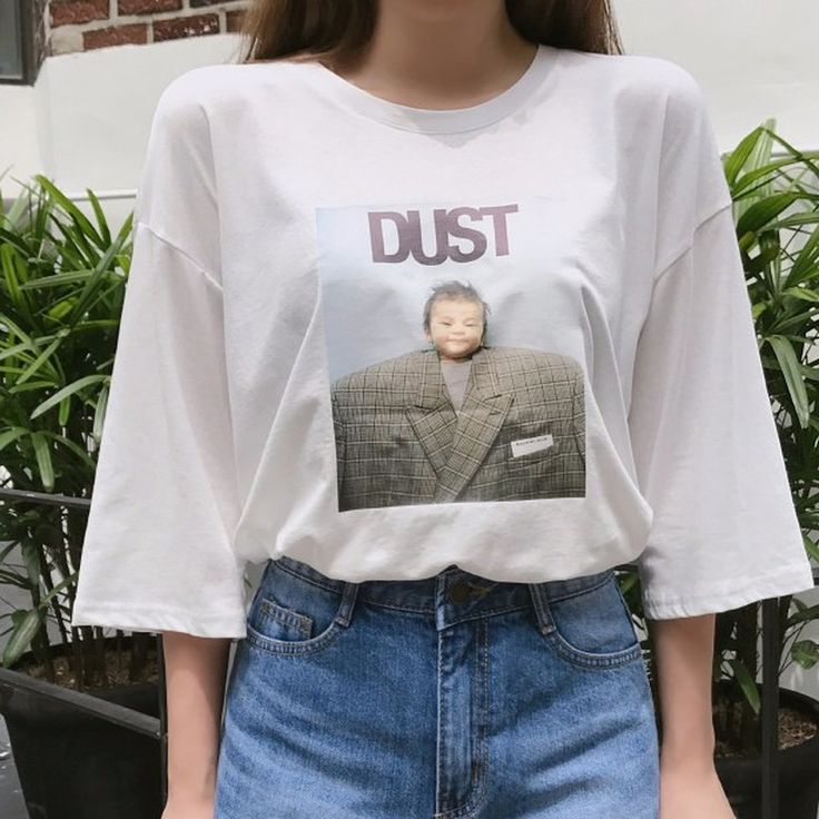 ♡ユニークプリントルーズTシャツ♡ #レディースファッション #ファッション通販 #ファッショントレンド #新作 #最新 #モテ服 #韓国ファッション #韓国レディース通販 #ootd #wiw  #fashionaddict #womensfashion #fashion  https://goo.gl/Xg6Mq8