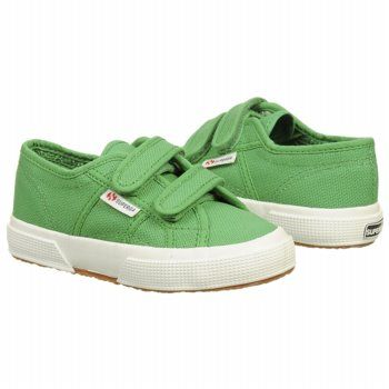 Superga 2750 JVEL Classic T/P Shoes (Island Green) - Kids' Shoes - 31.0 M