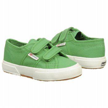 Superga 2750 JVEL Classic T/P Shoes (Island Green) - Kids' Shoes - 31.0 M