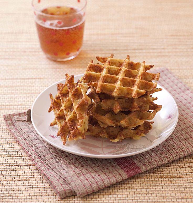 Une tuerie ces gaufres de pommes de terre : elles sont moelleuses et croustillantes à la fois. A servir bien chaude surtout !