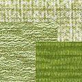 Желто-зеленая ткань