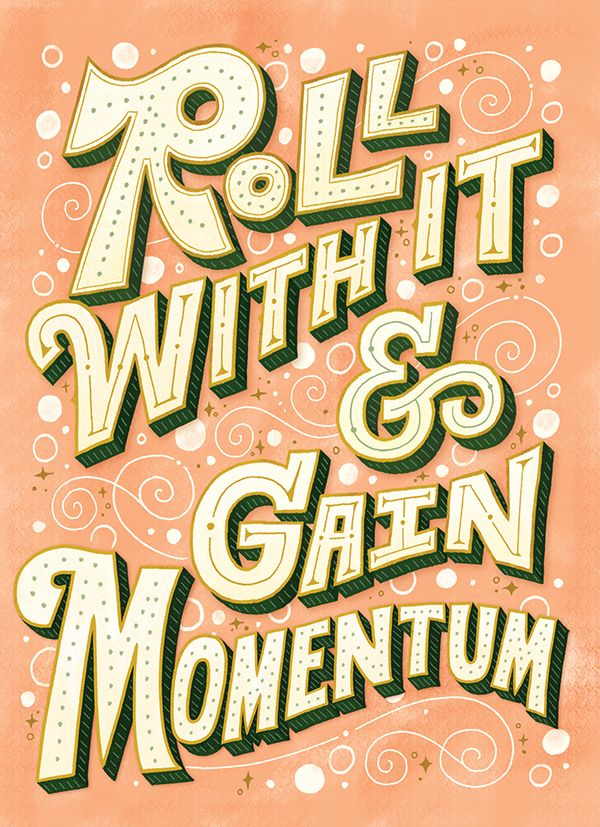 Roll With It on Behance by Mary Kate McDevitt