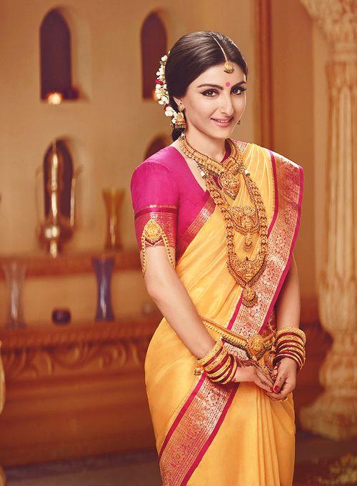 Soha Ali Khan as a gorgeous, traditional South Indian bride! #wow