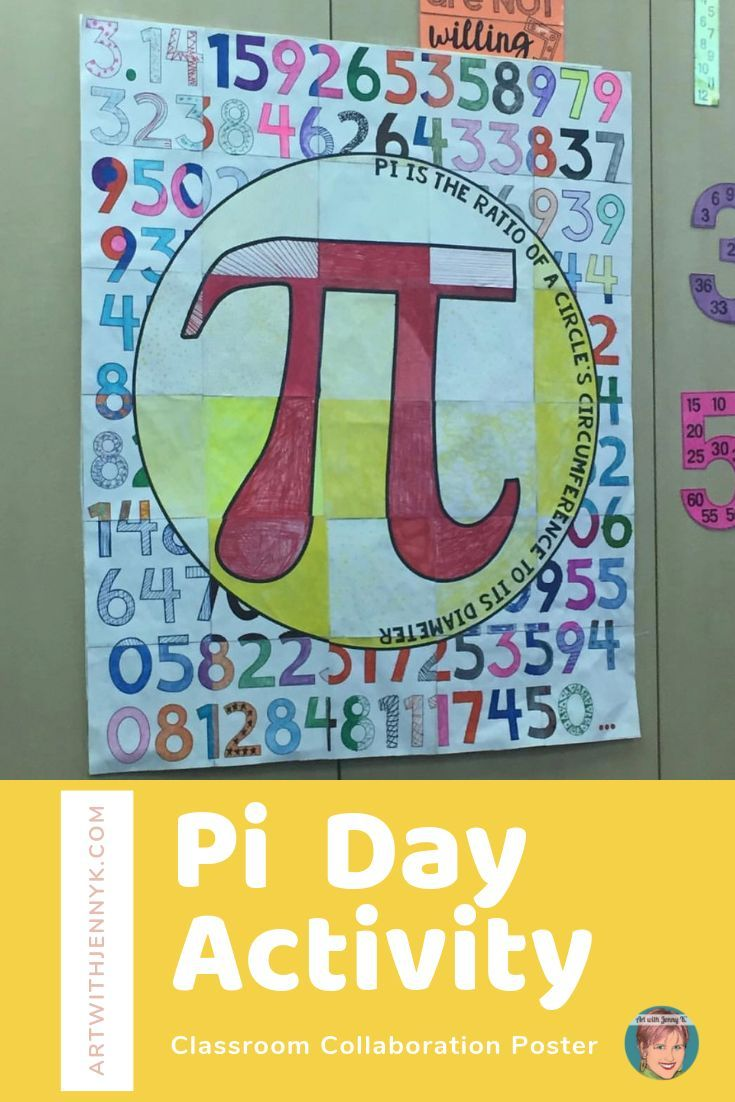 Pi Day Activity Classroom Collaboration Poster Collaborative Classroom Math Activities Elementary Teacher Favorite Things [ 1102 x 735 Pixel ]