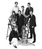 Out Group commissioned by Jocelyn Stevens on 18th July 1967. Cathy McGowan is in the centre row