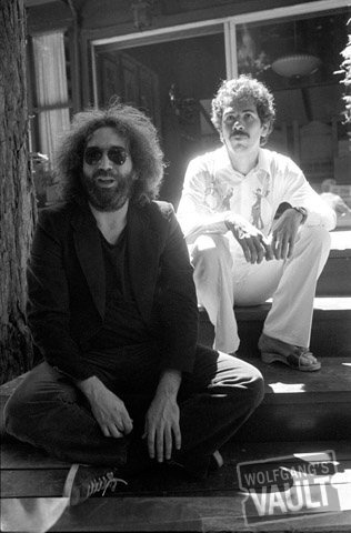 Jerry Garcia and Carlos Santana - another great photo by our friend Michael Zagaris.