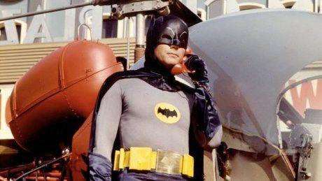 """An online search of the Sun Valley directory for Adam West results in a prompt to """"See Wayne, Bruce (Millionaire),"""" which results in """"Please consult Crime Fighters in the Yellow Pages,"""" leading to """"See Batman,"""" leading back to Adam West. None have phone numbers."""