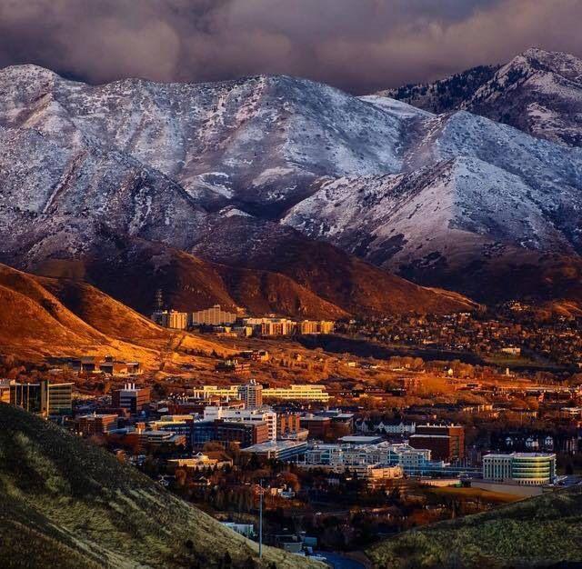 Perfect Lighting For This Winter Storm Picture Of University Of Utah In Salt Lake City Utah Salt Lake City Utah City Salt Lake City