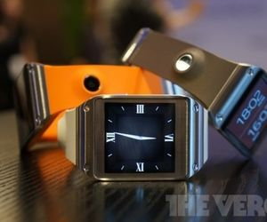 Here is Samsung's new Smart Watch.  It only syncs with Samsung phones so beware.