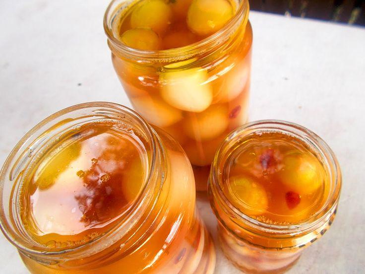 Κρεμμύδια τουρσί - Φτιάχνω κρεμμυδάκια τουρσί