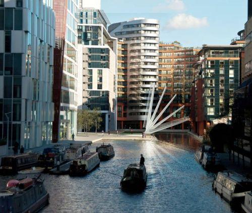 Londonski pešački most se izdiže poput japanske lepeze - Građevinarstvo