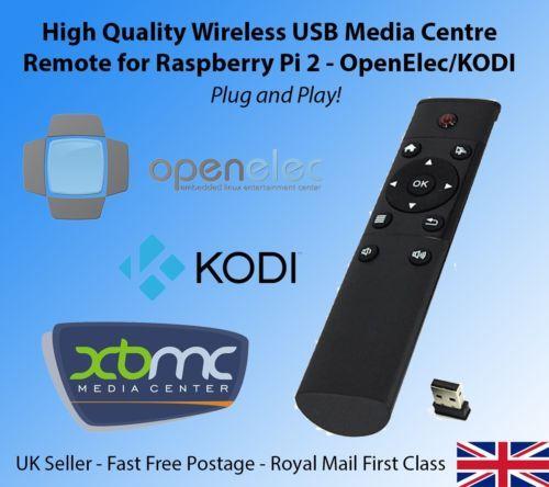 Usb wireless #media centre remote for #raspberry pi 3 2 b b+ #openelec kodi,  View more on the LINK: http://www.zeppy.io/product/gb/2/112249325260/