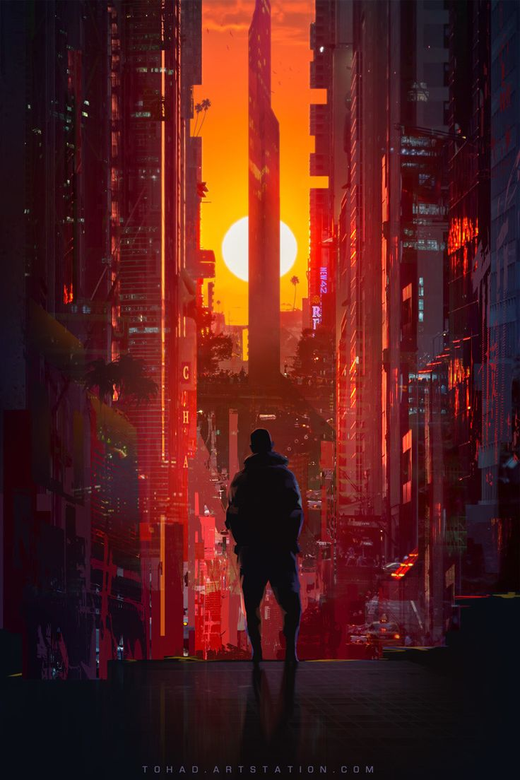 California 2085, Sylvain Sarrailh on ArtStation at https://www.artstation.com/artwork/zoZKQ