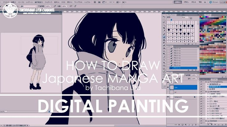 Digital Painting | How to draw Manga Art 2017.11.14