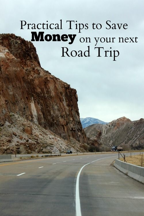 Tried and true tips to save money on your next road trip. This post shares ways to save on gas, food, hotel costs and entertainment. How much can you save?