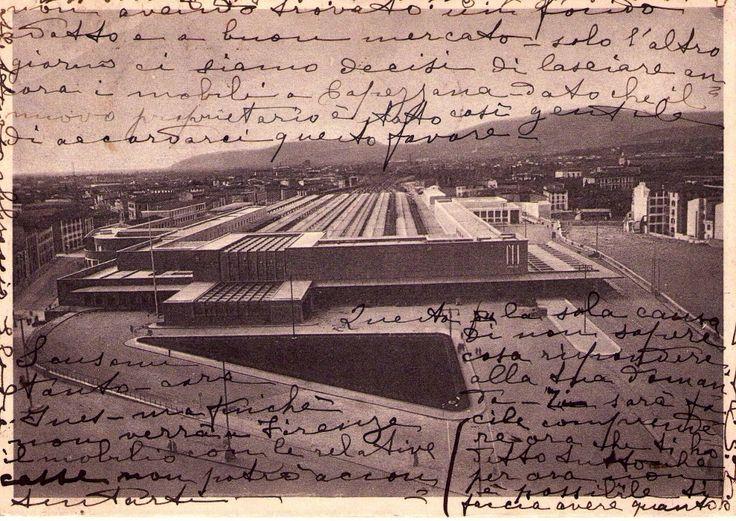 1938, la Stazione di Santa Maria Novella da poco realizzata (1935)