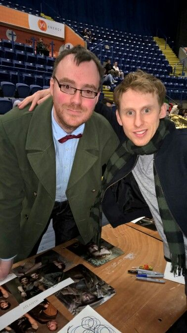 Me and Robert Emms