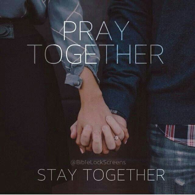 Have quickly the couple that prays together stays together