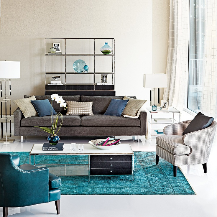 hello new round chair....you would look lovely in the color of that rug in my living room...