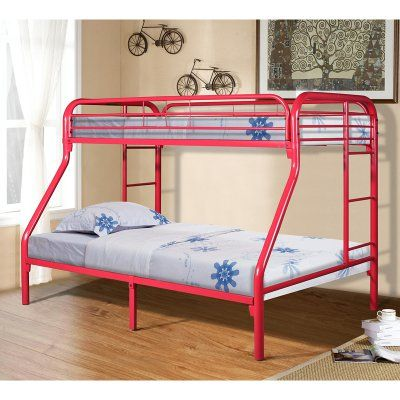 25 best ideas about metal bunk beds on pinterest modern bed rails metal double bed and asian. Black Bedroom Furniture Sets. Home Design Ideas