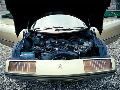 Citroen GS Camargue (Bertone), 1972 - Photo: Rainer W. Schlegelmilch