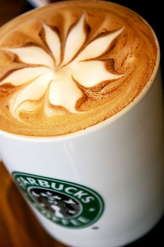 Starbucks Latte: Cant Wait, Latte Art, Coffeeart, Coff Art, Starbucks Coffee, Coffee Art, Pumpkin Spices Latte, Flower, Starbucks Fall Drinks