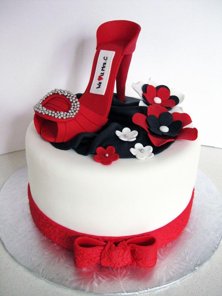 торт с туфелькой фото несмотря