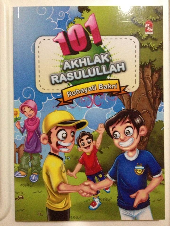 """[101 AKHLAQ RASULULLAH SAW] Buku ini Mengandungi 225 pages. Mari kenali akhlak-akhlak yang boleh kita contohi melalui buku ini. Akhlak yang baik lahir daripada peribadi yang selalu mahu mencontohi Rasulullah SAW. Buku ini mengajak adik-adik mengenali dan memahami 101 akhlak yang dapat dicontohi. """"Sesungguhnya pada diri Rasulullah SAW itu contoh ikutan yang paling baik bagi kamu"""" Surah Al-Ahzab, Ayat 21"""