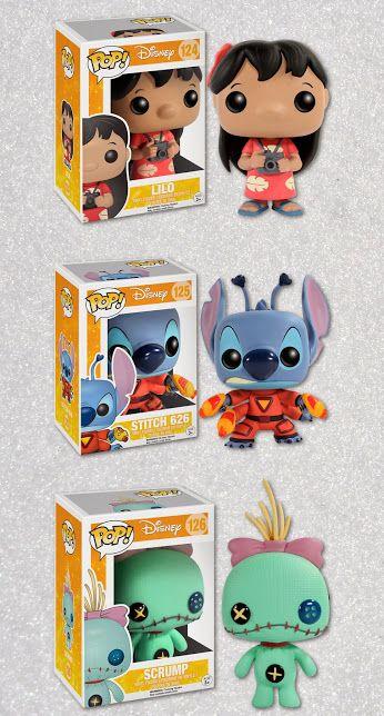 POP! Lilo & Stitch vinyl dolls