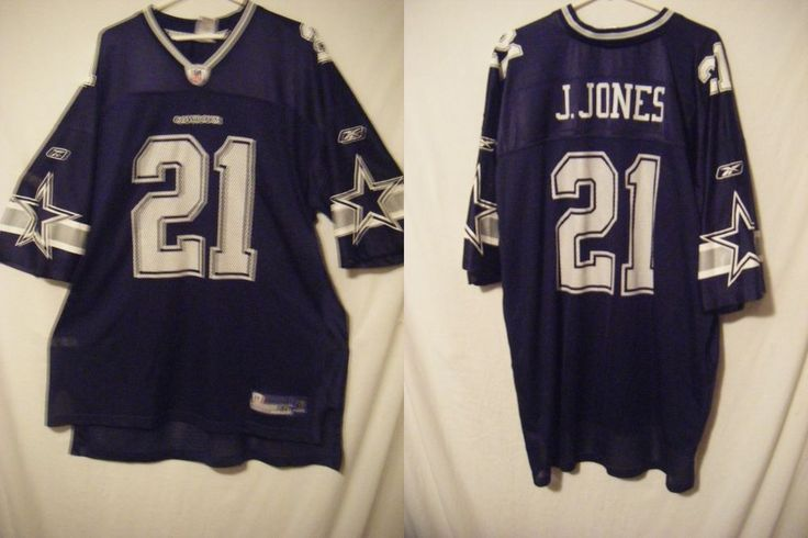 NWOT Dallas Cowboys Julius Jones men's sz XXL 2XL jersey Reebok blue double star #Reebok #DallasTexans