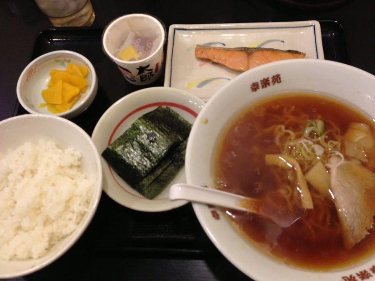 幸楽苑の朝定食