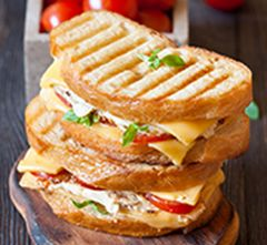Try a sharp cheddar and Seneca Apple Chip grilled cheese.